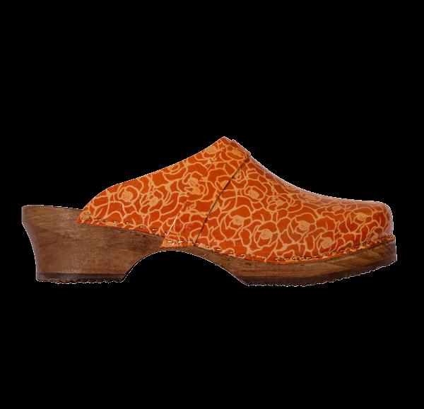 sabot-imprime-fleur-orange