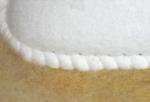 Un zoom sur le travail de couture exceptionnel realise a la main