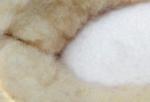 Interieur 100% laine douce et tres chaude