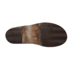 Notre semelle sabot en bois massif avec une couche antidérapante