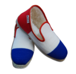 Charentaise Homme Frenchie bleu blanc rouge